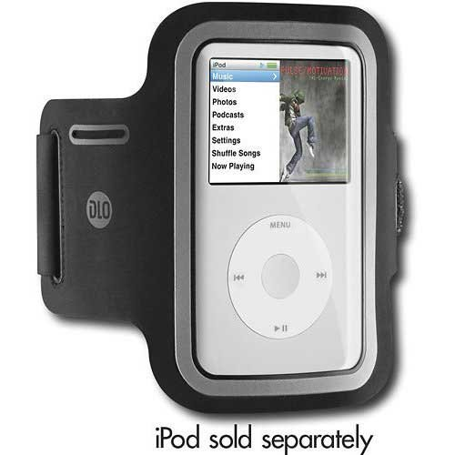 Digital Lifestyle Outfitters ActionWrap Armband Instance for Apple iPod Classic (Black)