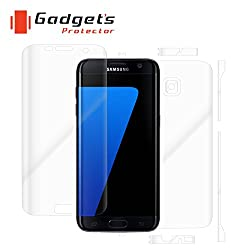 Gadgets Protector 02318104 Samsung galaxy S7 Edge Total Body Protection - mobile scratch guard - screen guard - Screen Protectors - skins - cover
