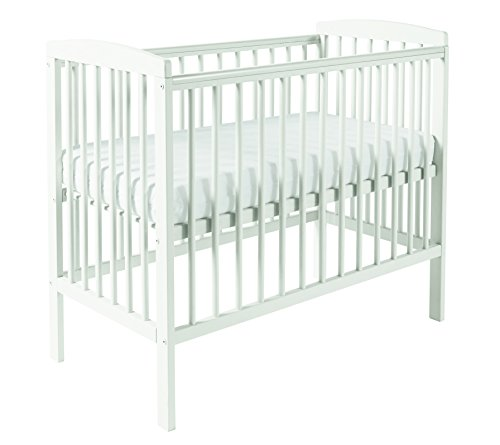 Kinder Valley Sydney Compact Cot White