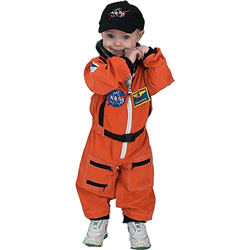 Jr. Astronaut Suit Orange Toddler Costume - 18 Months