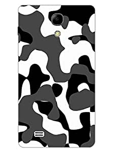 Camouflage - Indian Army - Uniform - Hard Back Case Cover for Samsung S4 Mini - Superior Matte Finish - HD Printed Cases and Covers