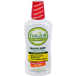 The Natural Dentist Gums Antigingivitis Rinse, Peppermint Twist