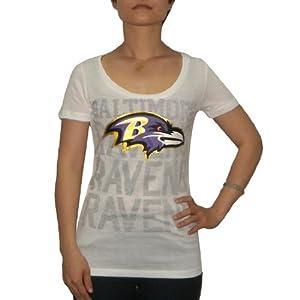 Victoria's Secret Women's NFL Baltimore Ravens T-Shirt by Pink Victoria's Secret