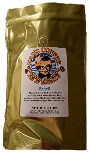 Kar'S Premium Roasted Coffee Beans (Brazil, 1 Lb / 16 Oz)