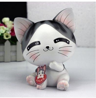 Makarine Cute Cat Piggy Bank Savings