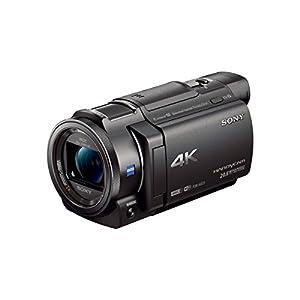 Sony FDR-AX33/B FDR-AX33B FDR-AX33 4K Camcorder with 64 GB BUNDLE