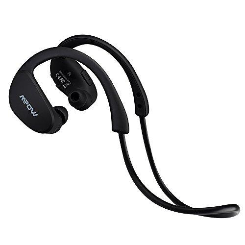 Mpow Cheetah Auricolari Wireless Bluetooth 4.1 Headset Stereo Cuffie Sport con Microfono e AptX Headphone per iPhone 6s plus, 6s, 6, 6 Plus, 5s, 5c, 5, 4s, iPad, LG G2, Samsung Galaxy S6 Edge+, S6 Edge, S6, S5, S4, S3, Note 4, Note 3, Note 2, Sony, Huawei, Xiaomi ed altri Smartphone