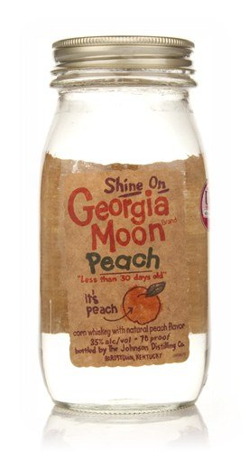 Georgia Moon Peach White Dog Spirit