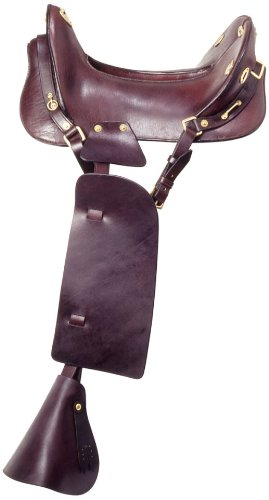 McClellan Replica Cavalry Saddle – Dark Brown – 15″