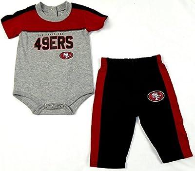 San Francisco 49ers NFL Infant Horizon Bodysuit Pants Set