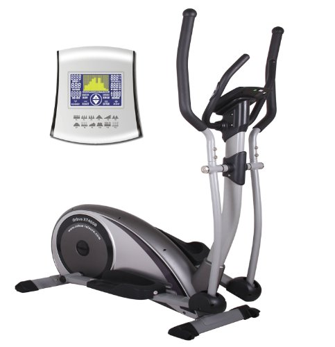 The Orbus XT4000 Elliptical Cross Trainer combines Premier Level Quality with Superb Value. Having being developed to be one of the most impressive home use machines on the market, its Build Quality and Touch Screen Technology show its definately built to impress. DELIVERY to UK Mainland postcodes only. (Silver)