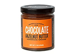 Nohmad Snack Co - Sprouted & Stoneground Chocolate Hazelnut Butter