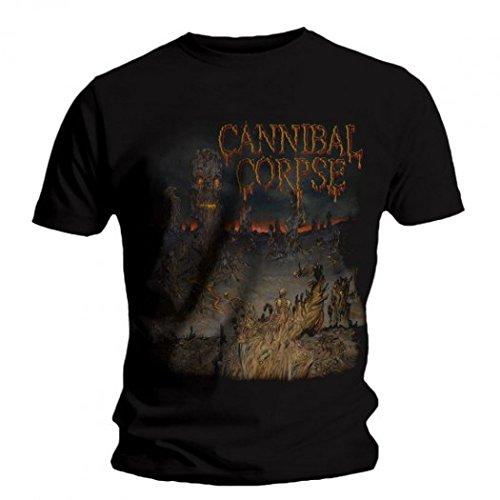 Cannibal Corpse - T-Shirt - Un dominio scheletrico 1 multicolore Small