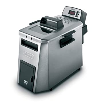 DeLonghi D24527DZ Dual Zone 3lb-Capacity Deep Fryer