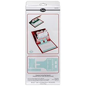 Sizzix Bigz XL BIGkick/Big Shot Die, Gift Card Holder/For You 3, D Card Pop, Up