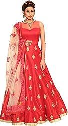 Hirva collectons New Arrival Red Long Anarkali Designer Salwar Suit