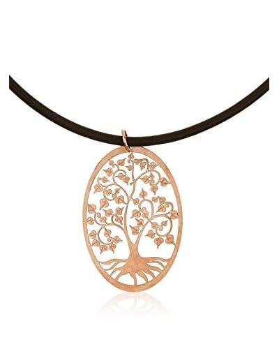 Córdoba Joyeros Conjunto de cadena y colgante Árbol De La Vida Oro Rosa