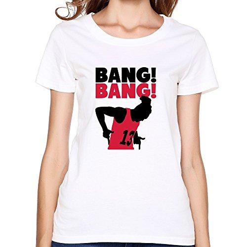 Ptcy Girls' T Shirts Bang Bang Us Size S White front-537142