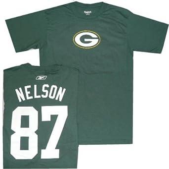 Green Bay Packers Jordy Nelson Reebok Name