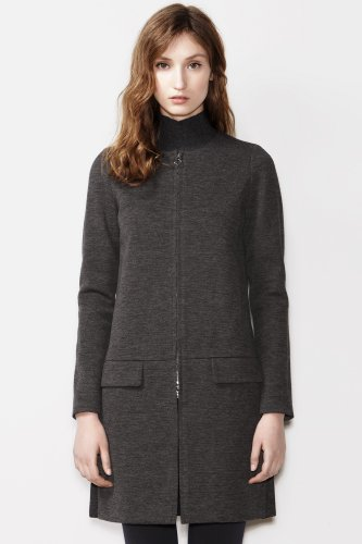 Fashion Show 3/4 Length Milano Zipped Coat