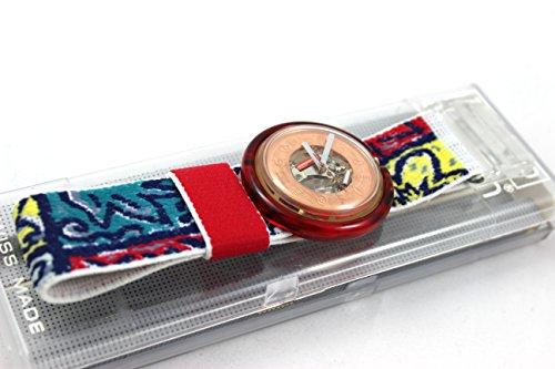 1991 Rare Vintage Swatch Watch Pop Provencal PWK137 2