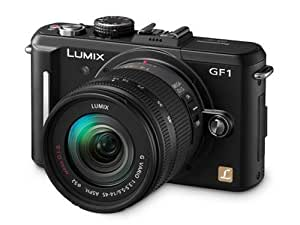Panasonic Lumix GF1 12.1MP Digital System Camera 14-45mm Lens Kit - Black