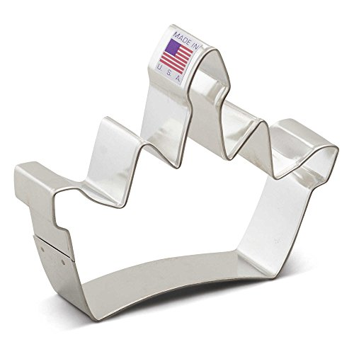 Ann Clark Crown Cookie Cutter | Tin-Plated Steel | Hand Wash | Measures 4.75
