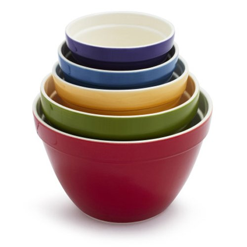 sur la table ceramic mixing bowls 0900019 set of 5