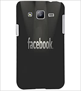 PrintDhaba Facebook Logo D-5544 Back Case Cover for SAMSUNG GALAXY J2 (Multi-Coloured)