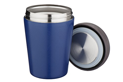Mira Lunch Jar, Vacuum Insulated, Stainless Steel, 15Oz, Blue back-338261