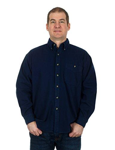 mens-denim-corduroy-long-sleeve-button-down-shirt-x-large-dark-blue