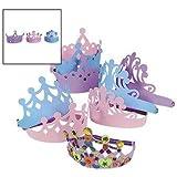 Foam Princess Tiaras (1 Dz)