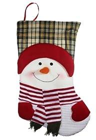 20″ Long 3D Happy Plush Snowman Chris…