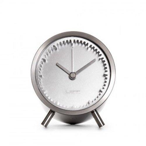 LEFF amsterdam - Tube Clock Tischuhr - Stahl - Piet Hein Eek - Design - Uhr