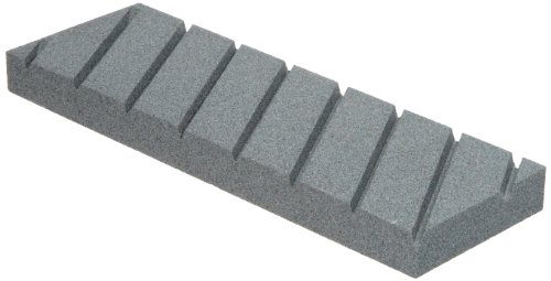 "Norton Abrasives St. Gobain Norton Flattening Stone for Waterstones, 3/4"" x 3"" x 9"" in plastic case"