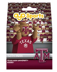 NCAA Texas A&M University Aggies 12th Man Fan G1GT Minifigure