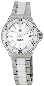 TAG Heuer Women's WAH1213.BA0861 Formula 1 White Dial Watch by TAG Heuer
