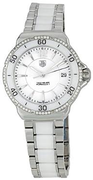 TAG Heuer Women's WAH1213.BA0861 Formula 1 White Dial Watch
