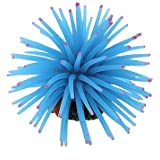 Aquarium Fish Tank Blue Silicone Mini Sea Anemone Ornament