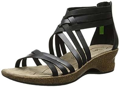 Amazon Com Ahnu Women S Trolley Wedge Sandal Shoes