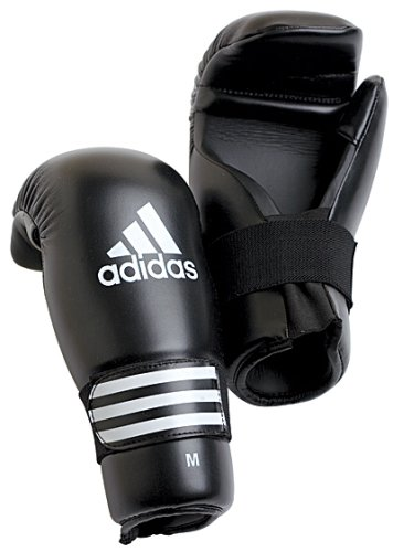 Adidas Semi Contact Gloves - Black - Small