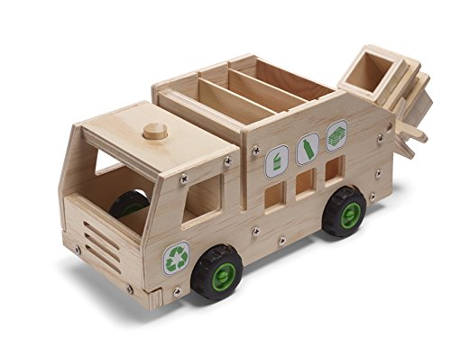 Red-Tool-Box-Recycling-Truck-Building-Kit