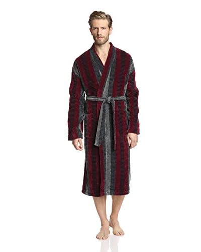 Ike Behar Men's Terry Velour Kimono