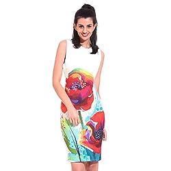Saiints Poly Cotton Women Dress,Medium