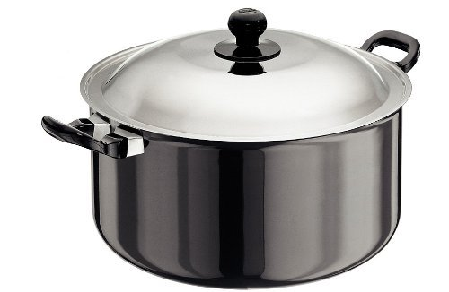 Hawkins/Futura L39 Hard Anodised Cook and Serve Stewpot, 8.5-Liter