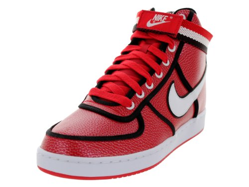 Nike Men's Vandal High University Red/White/Black Lifestyle Shoe 9.5 Men US