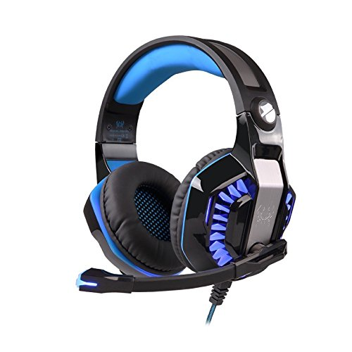 Kotion Each Over the Ear Headsets with Mic & LED - G2000 Pro Edition