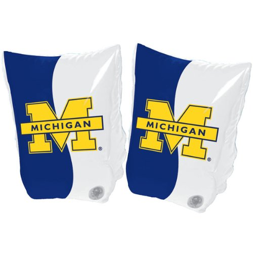 Michigan Wolverines Arm Swimmies front-332683