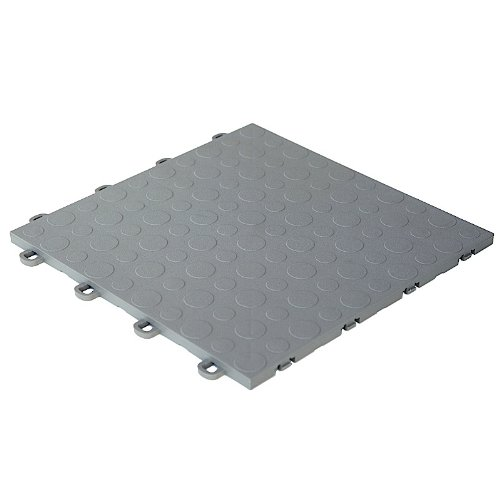 Modutile garage floor tiles 30 pack coin gray garage for How to clean a garage floor without water