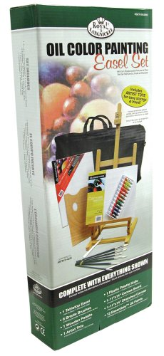 Royal & Langnickel Oil Color Painting Easel Set